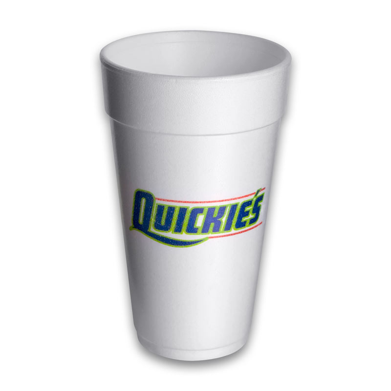 20 oz Styrofoam Cups Personalized