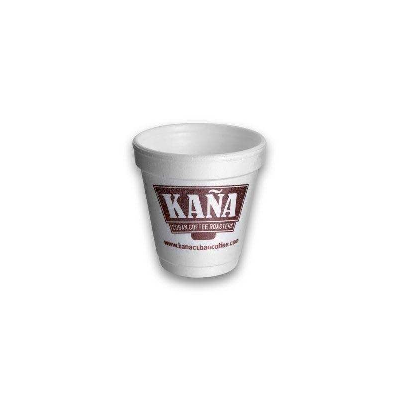 4 oz styroFoam Cup custom printed