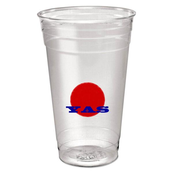 24 oz plastic PET cups