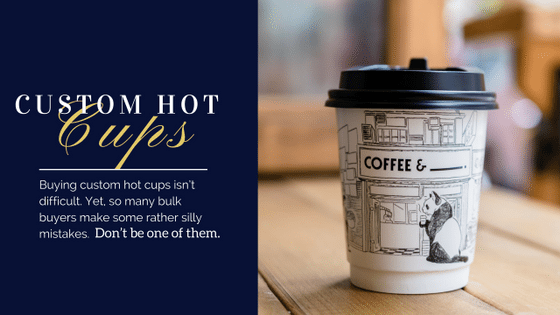 printed hot cups