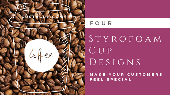 custom styrofoam cups wholesale