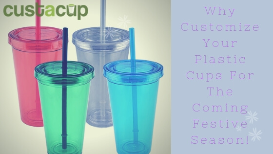plastic cups with logo wholesale