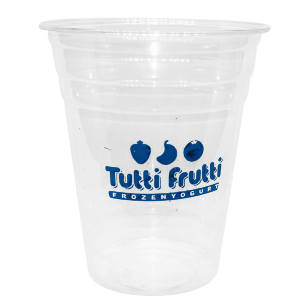 12 oz PET Cup Single Color