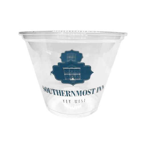 9 oz Squat Pet Cup Single Color
