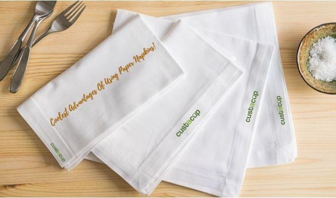 custom made napkins
