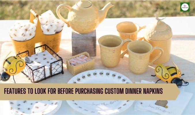 custom cups and napkins
