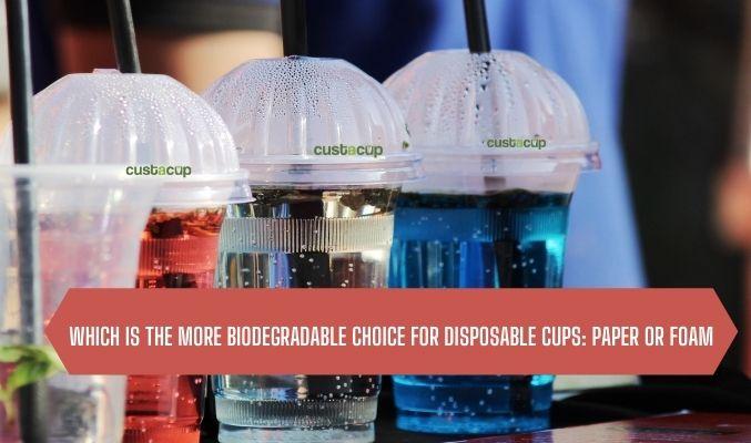 custom printed disposable plastic cups
