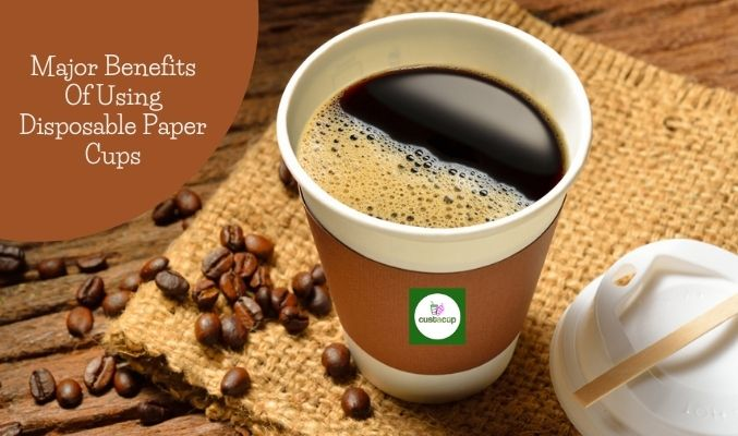 customized disposable coffee cups