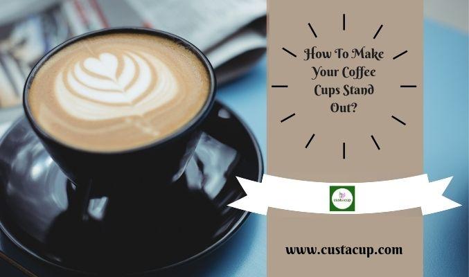 custom printed coffee cups